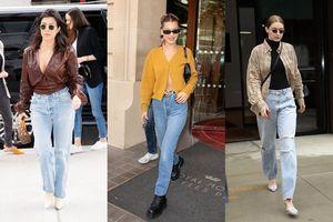 Diện quần jeans muốn tôn dáng và sành điệu bậc nhất thì chị em phải học hỏi các sao Hollywood