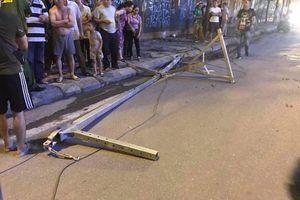 Ai chịu trách nhiệm vụ khung sắt rơi từ công trình xây dựng khiến một người chết oan?