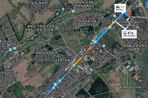 Hà Nội chuẩn bị làm tuyến đường dài 3km từ Phan Đăng Lưu đến Yên Thường