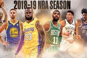 Lịch thi đấu NBA Preseason 2018/2019 - Tâm điểm LA Lakers vs Golden State Warriors