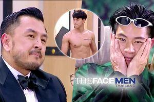 Tập 1 The Face Men mùa 2: 'Chú' Moo bắt trai đẹp cởi áo, sao 'anh' Toni lại ngượng ngùng thế này?