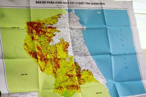 Thẩm định dự án xây dựng bản đồ cảnh báo nguy cơ lũ quét
