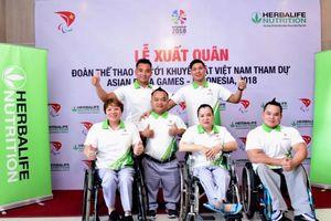 54 vận động viên Việt Nam xuất quân thi đấu tại Asian Para Games 2018
