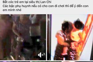 Công an thông tin về nghi vấn bắt cóc bé trai 3 tuổi ở Hà Nội