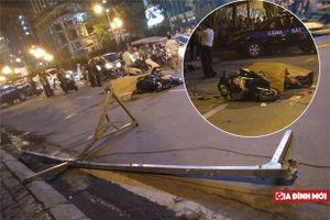 Nguyên nhân vụ thanh sắt từ trên cao rơi xuống đường khiến 1 người thiệt mạng