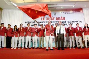 54 vận động viên Việt Nam lên đường tham dự Asian Para Games 2018 tại Indonesia
