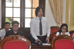 Thường trực Tỉnh ủy cho ý kiến về chủ trương đầu tư dự án Thành phố giáo dục quốc tế Thanh Hóa