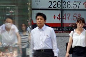 Chứng khoán châu Á tăng điểm theo đà Phố Wall