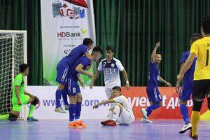 Futsal VĐQG HDBank 2018: Ngược dòng hạ Hải Phương Nam Đại học Gia Định, Thái Sơn Nam chiếm ngôi đầu