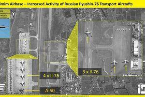 Căn cứ Hmeimim tiếp nhận 'ngựa thồ' Il-76 và 'ong nghệ' A-50 bị vệ tinh 'bắt gặp'