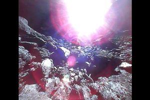 Những hình ảnh đầu tiên của tiểu hành tinh được quay trong dự án táo bạo của người Nhật Bản