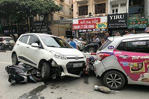 Tai nạn liên hoàn tại Tôn Đức Thắng: Làm sao tránh rủi ro