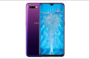 Oppo giới thiệu phiên bản màu tím của Oppo F9, giá 7,69 triệu đồng