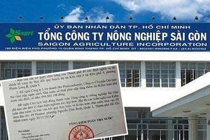 Tổng Công ty Nông nghiệp Sài Gòn: đầu tư lỗ hàng trăm tỉ