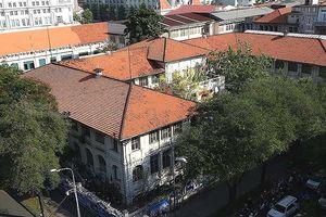 Dốc Catina và dinh Thượng thơ ở Sài Gòn-TP.HCM