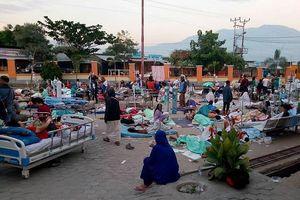 Tâm điểm thảm họa vụ động đất-sóng thần ở Indonesia