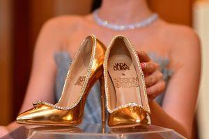Đôi giày nạm kim cương đắt nhất thế giới giá 17 triệu USD