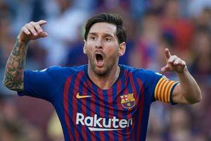 Messi kiến tạo giúp Barca chật vật giành điểm trước Bilbao