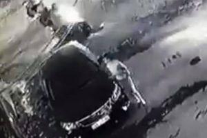 Người phụ nữ cào xước xe Camry trả thù: Trích xuất camera