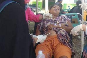 Indonesia: Đã có 30 người chết do động đất gây ra sóng thần