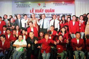 Việt Nam xuất quân dự Asian Paragames 2018