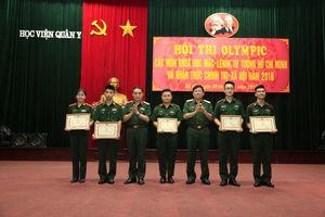 Học viện Quân y tổ chức Hội thi các môn khoa học Mác-Lênin, tư tưởng Hồ Chí Minh năm 2018