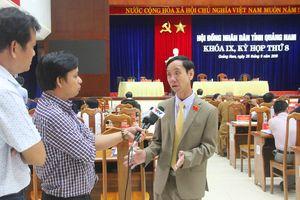 Kỳ họp thứ 8, HĐND tỉnh Quảng Nam Khóa IX: Xem xét hỗ trợ CB-CNVC nghỉ việc do sắp xếp lại tổ chức chính trị