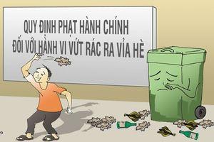 Rác… Rác… Khắp nơi cần dọn rác!