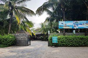Khu du lịch Temple Đà Nẵng tự ý thay đổi công năng, tăng gấp 3 số phòng