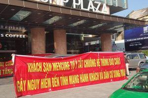 Chung cư SHP Plaza Hải Phòng bị tố vi phạm quy định phòng cháy chữa cháy