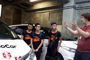 Các quán quân của Cuộc đua số trải nghiệm xe tự hành tại Nhật Bản