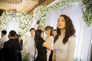 Tiết lộ thú vị của Hồ Quang Hiếu về ánh nhìn Bảo Anh 'đắm đuối' trong đám cưới Trường Giang