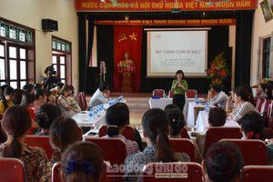 Nâng cao kiến thức sức khỏe sinh sản và tình dục an toàn cho nữ công nhân