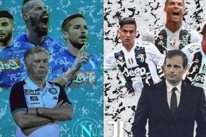 23h00 ngày 29/09, Juventus vs Napoli: Đại chiến nước Ý giữa cũ và mới