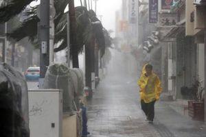Bão Trami gây nhiều thiệt hại cho Nhật Bản