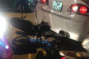 Đường Trường Chinh tê liệt nhiều giờ sau va chạm liên hoàn giữa ô tô và 2 xe máy