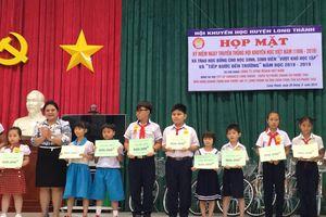 Vedan VN trao học bổng cho học sinh, sinh viên ' Vượt khó vươn lên trong học tập' và 'Tiếp sức đến trường'