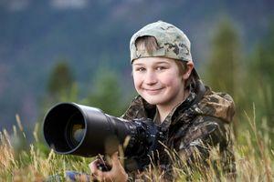 Nhiếp ảnh gia 13 tuổi mê 'dụ' các con vật để chớp khoảnh khắc tự nhiên