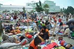 384 người thiệt mạng sau 'thảm họa kép' động đất sóng thần ở Indonesia