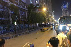 Khởi tố vụ sắt rơi trên đường Lê Văn Lương khiến 1 người tử vong
