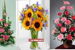 Cách cắm hoa đẹp ngày 20/11 gửi tặng thầy cô giáo