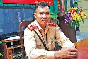 Thượng úy CSGT 9X được đề cử Công dân Thủ đô ưu tú