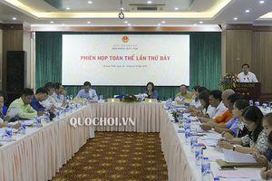 Hội đồng Dân tộc của Quốc hội khai mạc Phiên họp toàn thể lần thứ 7