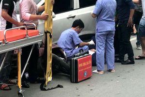 Xe 'điên' gây tai nạn liên hoàn khiến nhiều người phải nhập viện