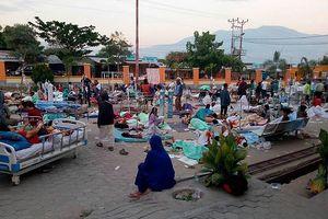 Hiện trường tan hoang sau trận động đất, sóng thần ở Indonesia