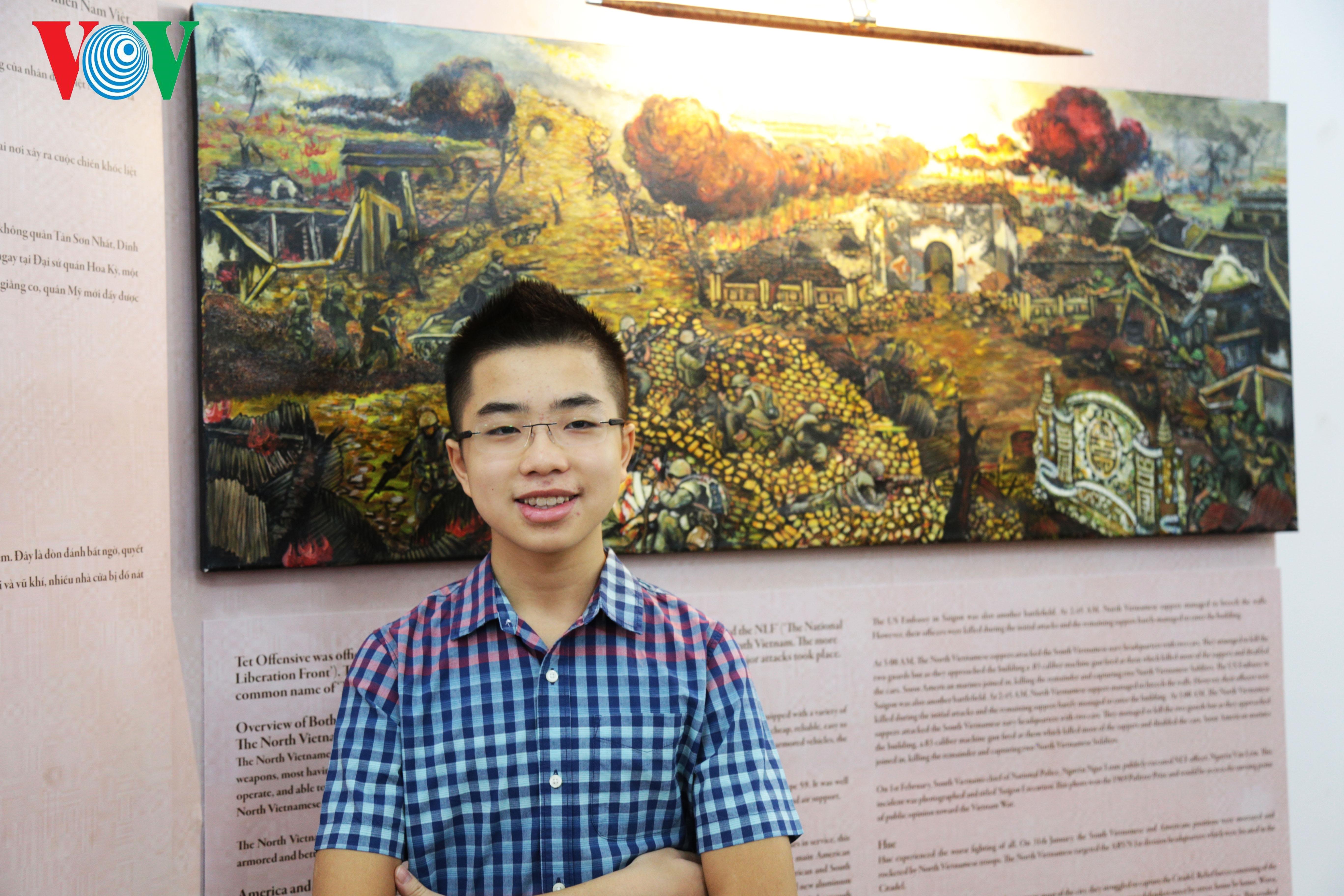 'Nhà sử học nhí' Đào Khang Duy vẽ ước mơ bằng tranh lịch sử