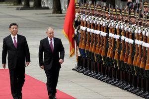 Mũi nhọn Mỹ trước thế hợp lực Nga - Trung?