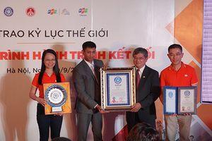 FPT nhận Kỷ lục Thế giới cho 'Hành trình Kết nối' 31 ngày chạy xuyên Việt
