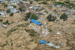 Chùm ảnh Indonesia hoang tàn từ trên cao