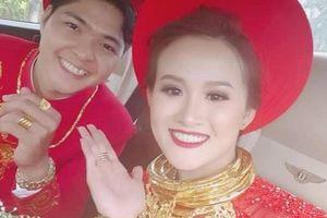 5 đám cưới gây 'lóa mắt' khi có cô dâu, chú rể đeo vàng kín cổ